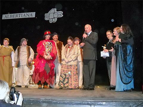 Graliśmy w Teatrze Słowackiego