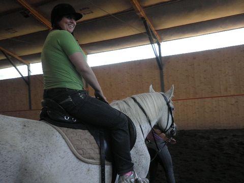 Jola na koniu