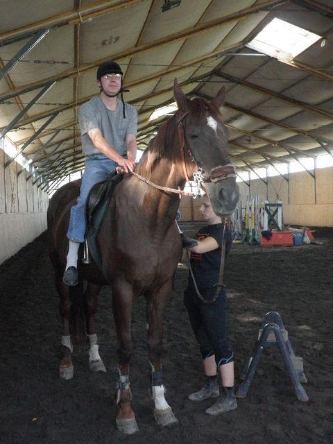 Rysiek na koniu