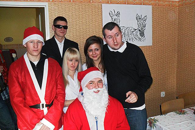 Mikołaj przyjechał na warsztaty!!!