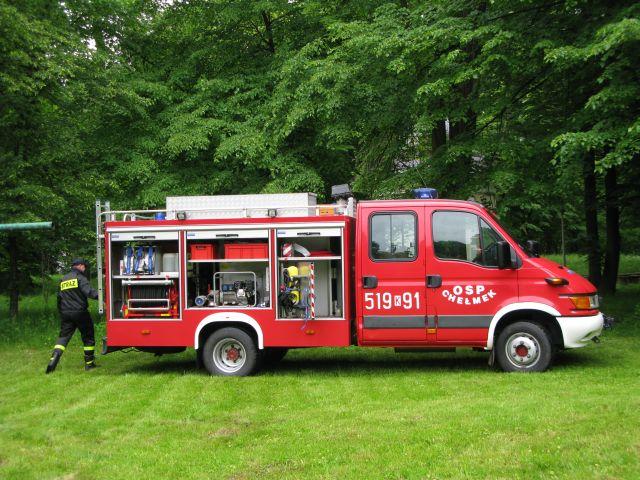 Młodzi adepci pożarnictwa