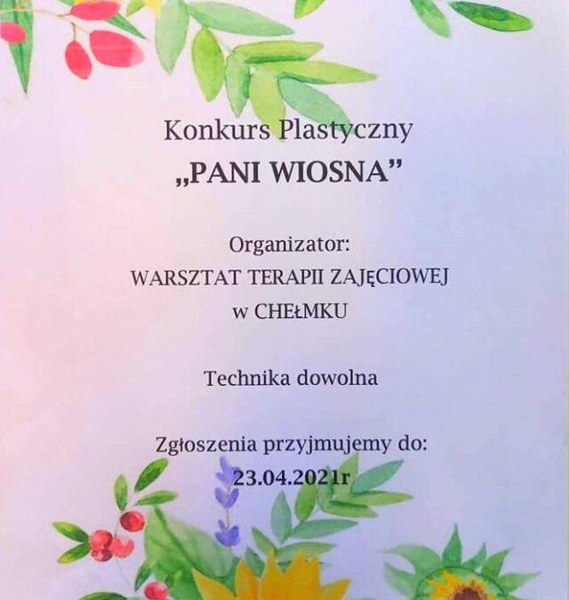 Pani Wiosna – konkurs